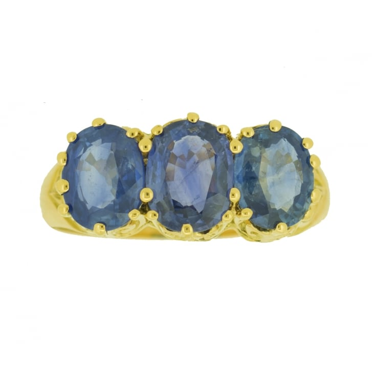 1905 Sapphire Trilogy Ring