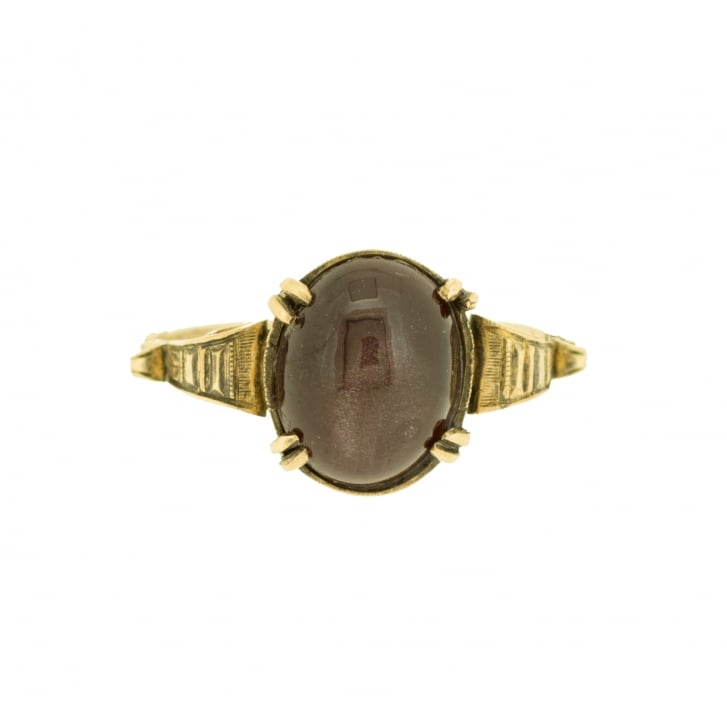 Art Deco Ring from Dublin, 1921