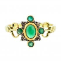 Beautiful Emerald Dress Ring
