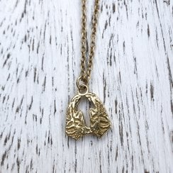 Gold Plated Angel Wings Necklace