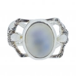 Becky Dockree Moonstone Little People Ring