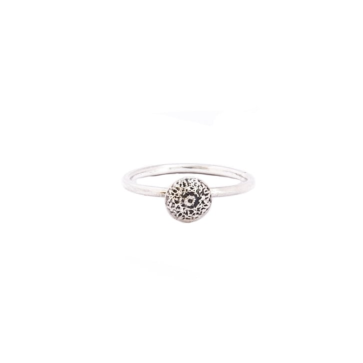 Becky Dockree Petite Silver Dome Ring