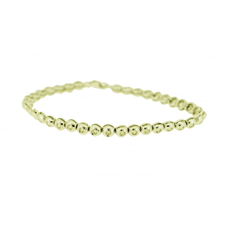 Bezel Set Diamond Tennis Bracelet From Lila S Jewels Uk