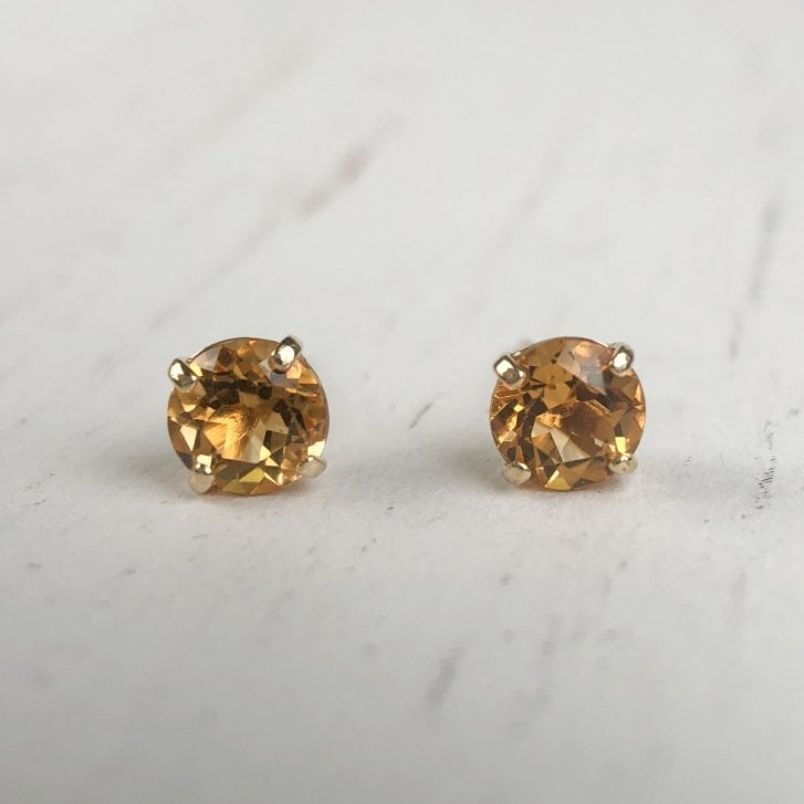 Citirne 9ct Yellow gold earrings