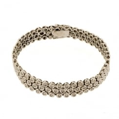 Damiani Tennis Bracelet in 18K Gold & Diamonds