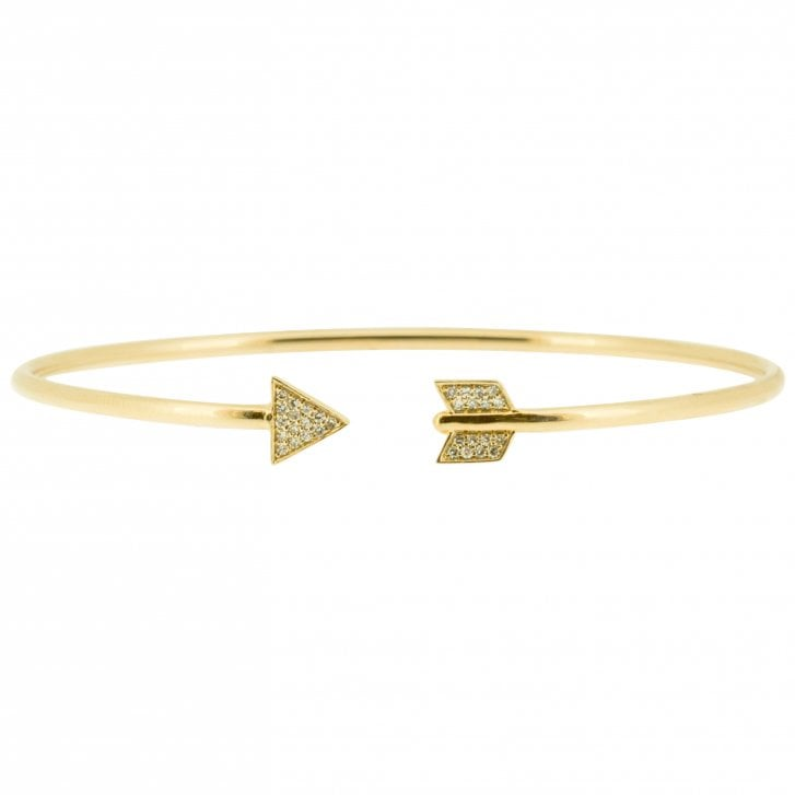 Richard Woo Diamond Arrow Cuff