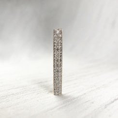 Diamond Bar Pendant