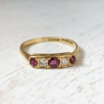Edwardian Five Stones Ring