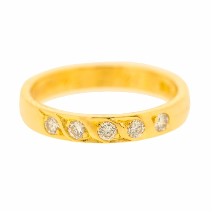 Five Diamond Eternity Band
