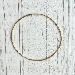 Yellow Gold Wire Bangle