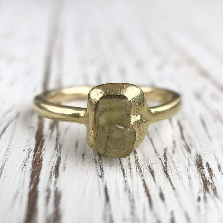 Marcel Salloum Rough Diamond Organic Ring