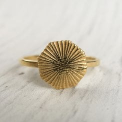 Mays Octaray ring in Gold Plated Silver