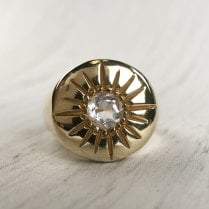 Mayd Sun Sinet ring in Gold Plated Silver