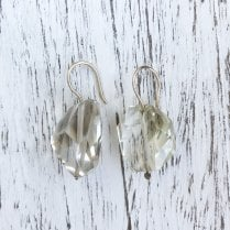 Molo Me Citrine Nugget Drop Earrings in Gold