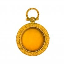 Open Round Locket