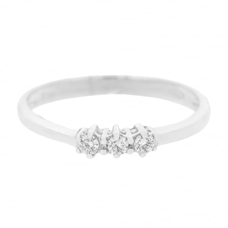 Petite Diamond Trilogy Ring