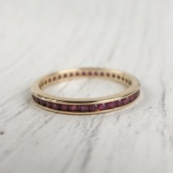 Ruby Full Eternity Ring