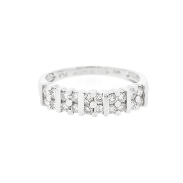 Square Frames Diamond Band