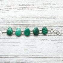 Statement Malachite Bracelet