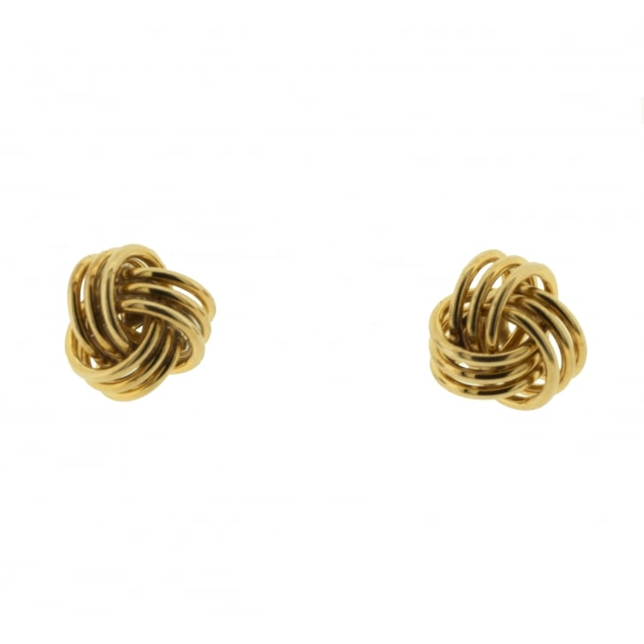 Timeless Wired Knot Stud Earrings