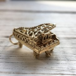 Vintage Gold Piano with Surprise