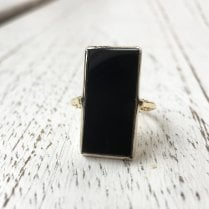 Vintage Large Tablet Ring